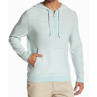 Tommy Bahama Back Graphic Print Mens 1/2 Zip Sweater