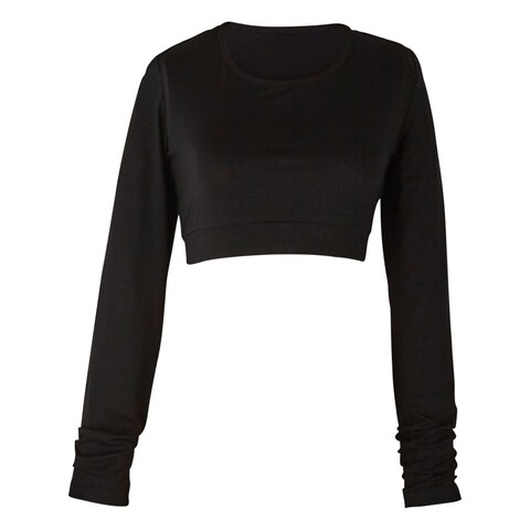 Women's Solid Knit Long Sleeve Layering Piece