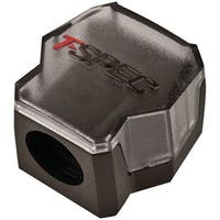 T-Spec V12Db-1124 V12 Series 1/0-Gauge In/Two 4/8-Gauge Out Compact Block Distribution