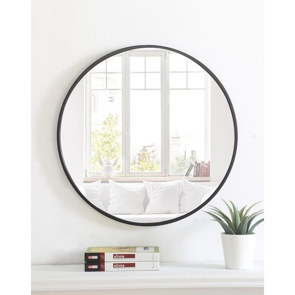 Carson Carrington Labbemala Metal Frame Round Mirror. Opens flyout.