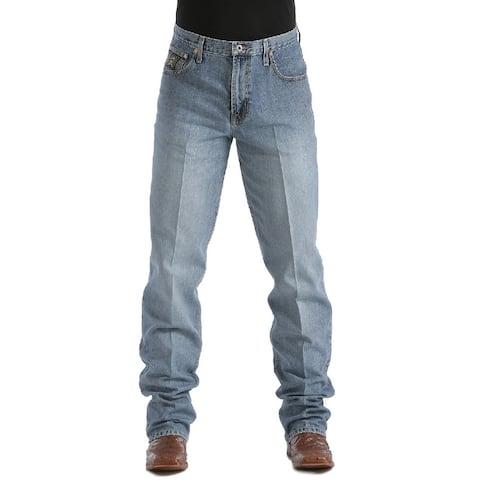 Cinch Western Denim Jeans Mens Black Label Relaxed Med Wash