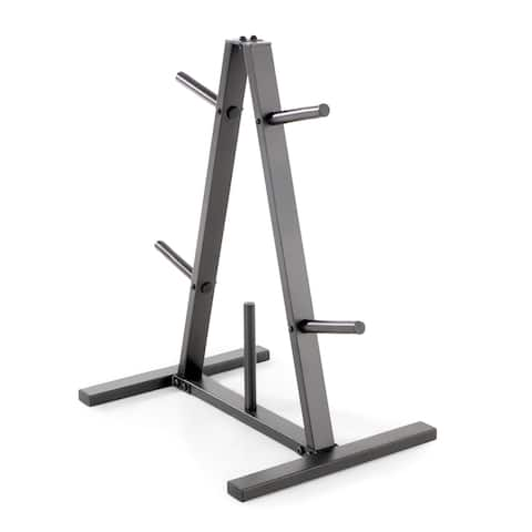 Marcy Standard Weight Plate Tree PT-5733 - Black