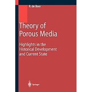 Theory of Porous Media - Reint De Boer