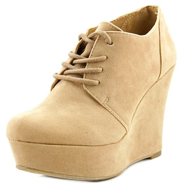 Material Girl Danity   Open Toe Synthetic  Wedge Heel