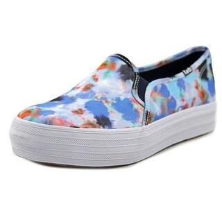 Keds Trip Deck Women Splatter Navy Sneakers Shoes