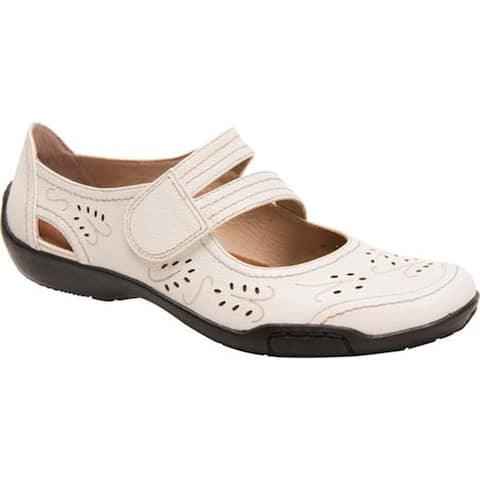 Ros Hommerson Women's Chelsea Winter White Leather