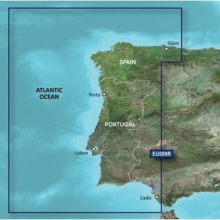 Garmin VEU009R - Portugal & Northwest Spain SD car Navigational Software