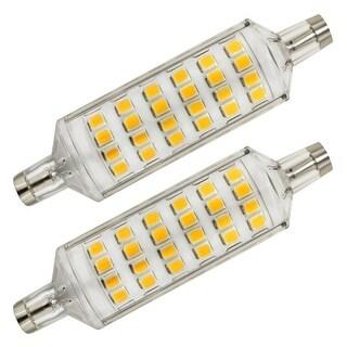 1 PACK/2 PACK 5W R7S LED Bulb, 78mm 72pcs Chips, 3000K Warm White, AC 100V-130V, 450 Lumens