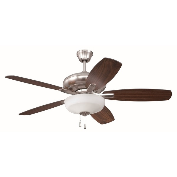 """Craftmade FZA525C1 Forza 52"""" 5 Blade Indoor Ceiling Fan - Blades and Light Kit Included"""