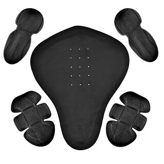 5 Pc Removable PU Armor for Motorcycle Biker Jacket PR2
