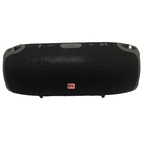 Bluetooth Speaker with FM Radio Black