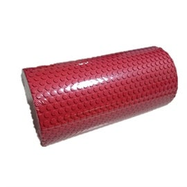 Yoga Gym Pilates EVA Soft Foam Roller Floor Exercise Fitness Trigger 30x14.5cm Red