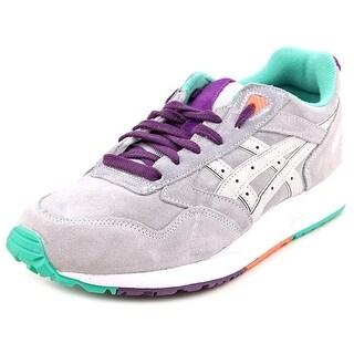 Asics Gel Saga Men Round Toe Suede Gray Walking Shoe