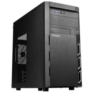 Antec Case VSK3000 Elite Micro-ATX/Mini-ITX 2xUSB 3.0 Audio In/Out Black Brown Box