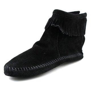Minnetonka Softsole Women Round Toe Suede Boot