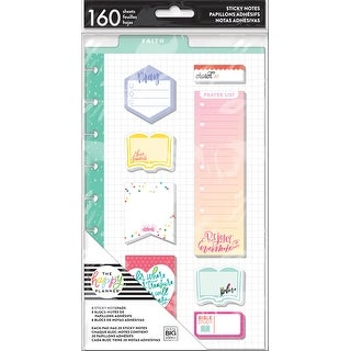 Happy Planner Sticky Notes 160/Pkg-Faith