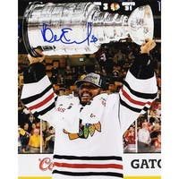 Ray Emery Blackhawks 2013 Stanley Cup Trophy 8x10 Photo