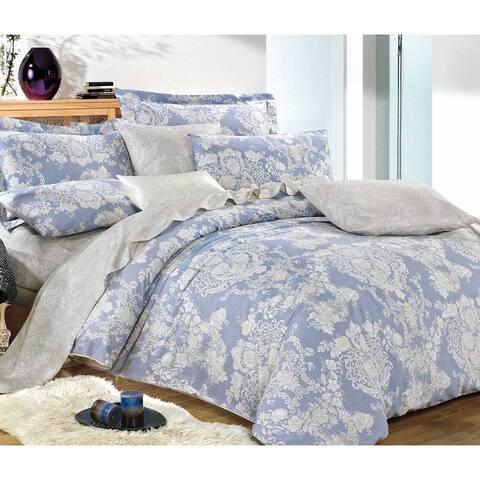 Lauren 100% Cotton Comforter Set Blue
