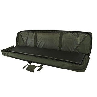 "VISM® by NcSTAR® DELUXE DOUBLE RIFLE CASE (55""L X 13""H) GREEN"