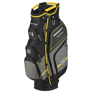 New Wilson Staff Nexus III Cart Bag Black / Yellow - Black / Yellow