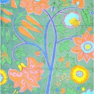Tree of Life Throw Tapestry Tablecloth Coverlet Spread Wall Hang 60x90 Green Purple