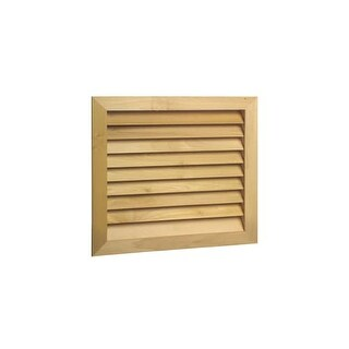 Worth Home Products AGF2520 Stainable New Zealand Pine grille & metal filter frame