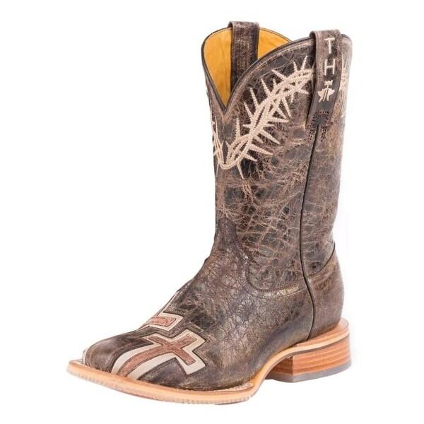 Tin Haul Western Boot Women My Savior Brown