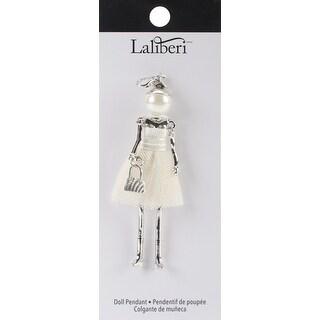 Laliberi Doll Pendant-Rachel - Silver