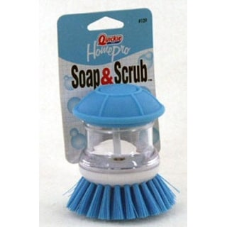 Quickie 139 Home Pro Soap And Scrub Brush, Blue And White