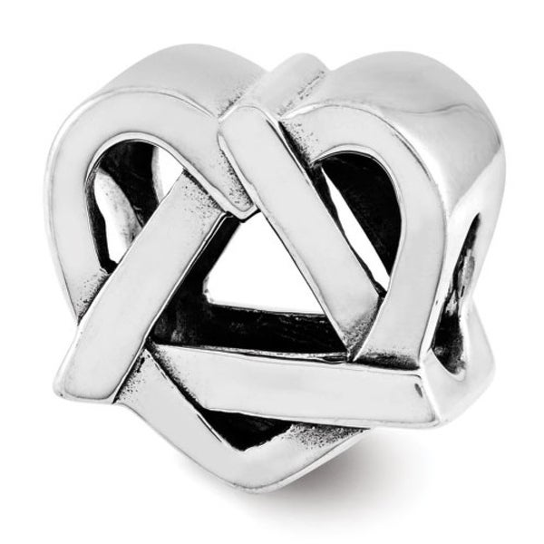 Sterling Silver Reflections Adoption Symbol Bead (4mm Diameter Hole)