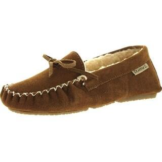 Bearpaw Womens Ashlynn Slip-On Flats Slippers Shoes