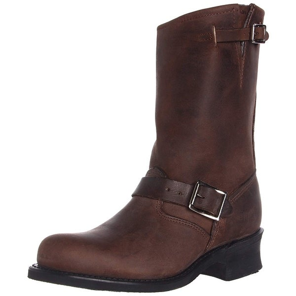 Frye Womens Engineer 12R Leather Closed Toe Mid-Calf Fashion Boots. Opens flyout.