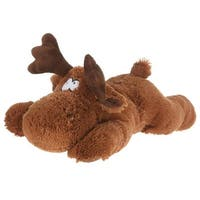 Giftable World A05006 30 in. Lying Moose - Large