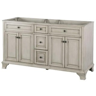 "Foremost CNA6022D Corsicana 62"" Double Free Standing Wood Vanity Cabinet Only -"