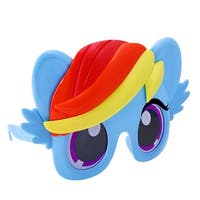 Sunstaches Officially Licensed My Little Pony Blue Rainbow Dash Pony - One size