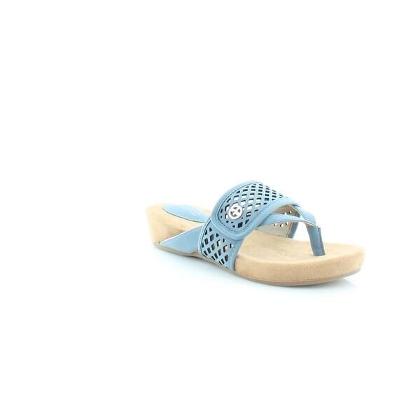 Giani Bernini Releigh Women's Sandals & Flip Flops Vintage Jean - 6