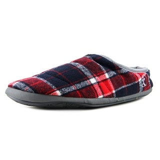 Bedroom Athletics Bale Slippers Men Round Toe Canvas Multi Color Slipper