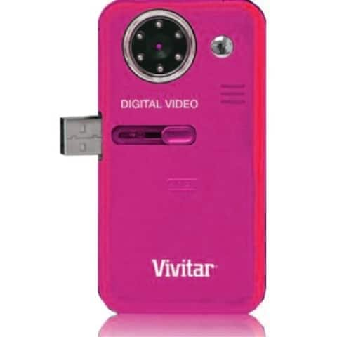 Vivitar Digital Video Recorder with Auto Night Vision (Pink)