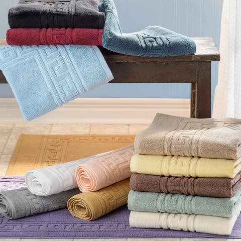 Superior Plush & Absorbent 900 GSM Cotton Bath Mat (Set of 2)