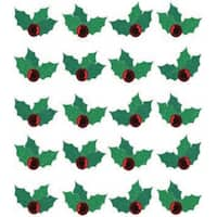 Jolee's Boutique Dimensional Stickers-Christmas Holly Repeats
