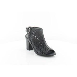 White Mountain Serina Women's Heels Black/Burn/Smooth