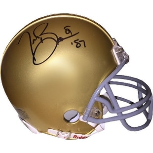 ab33c3901fb Shop Tim Brown signed Notre Dame Fighting Irish Riddell Mini Helmet 81 87  Heisman - Free Shipping Today - Overstock.com - 19872816