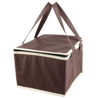 "Non-Woven Fabric 10"" Length Insulated Lunch Cooler Tote Bag"