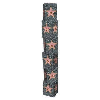 """Club Pack of 36 3-D Novelty Star Column Awards Night Party Decorations 1' x 5' 7.25"""""""