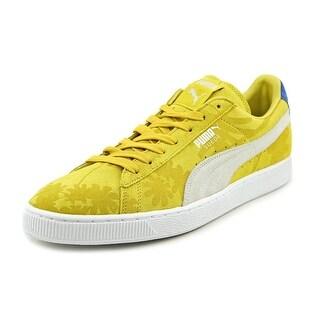 Puma Classic Tropicali Round Toe Suede Sneakers