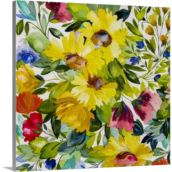 """Lydias Garden 2"" Canvas Wall Art"