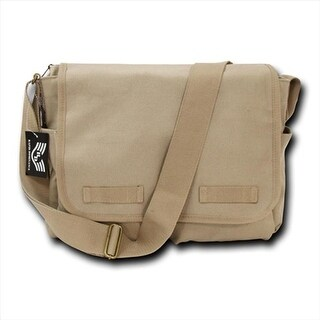 Classic Military Messenger Bags, Khaki