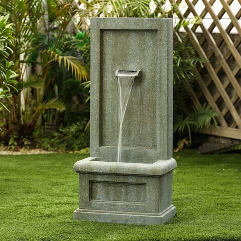Aracaju Patina Stone Garden Fountain by Havenside Home