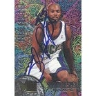 Shawn Respert Milwaukee Bucks 1995 Fleer Metal Rookie Roll Call Foil Autographed Card Rookie Card This item comes w