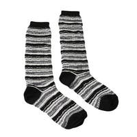 Missoni GM00CMD5221 0005 Gray/Black Knee Length Socks - Grey